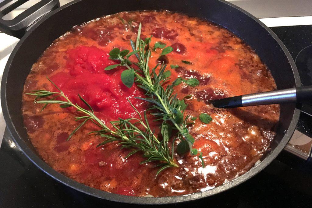 Bolognese für Lasagne