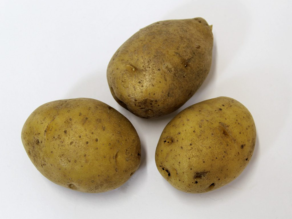 Kartoffeln nachher