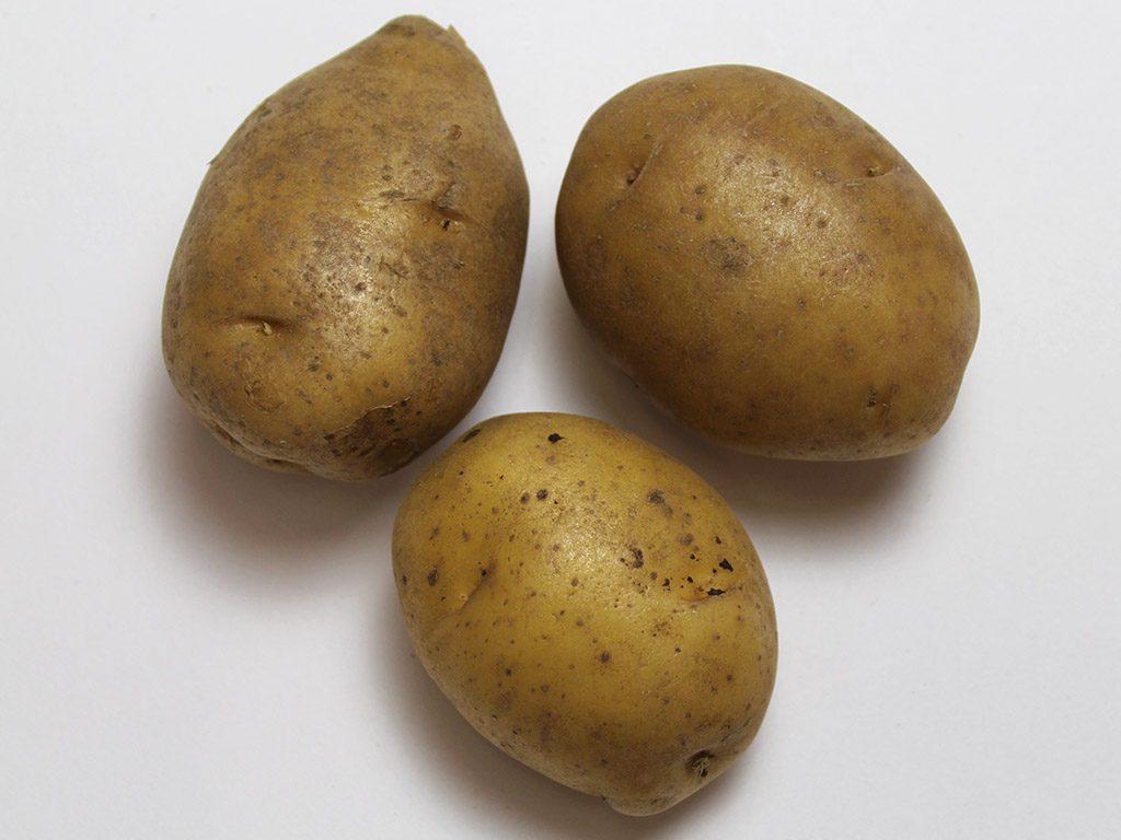 Kartoffeln vorher