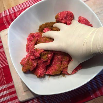 Hamburger Patties herstellen