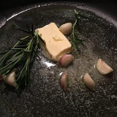 Butter zerlassen