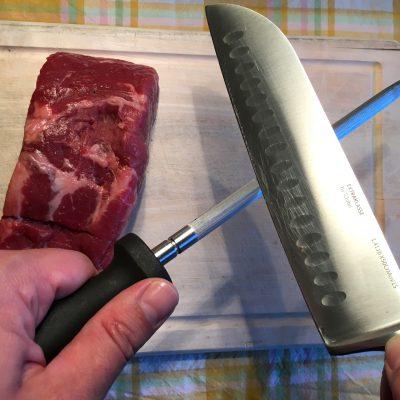 Messer wetzen