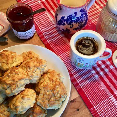Englische Scones zur Tea Time