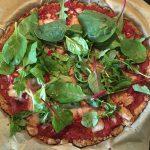 Pizza Bresaola mit Schinken aus Valtellina