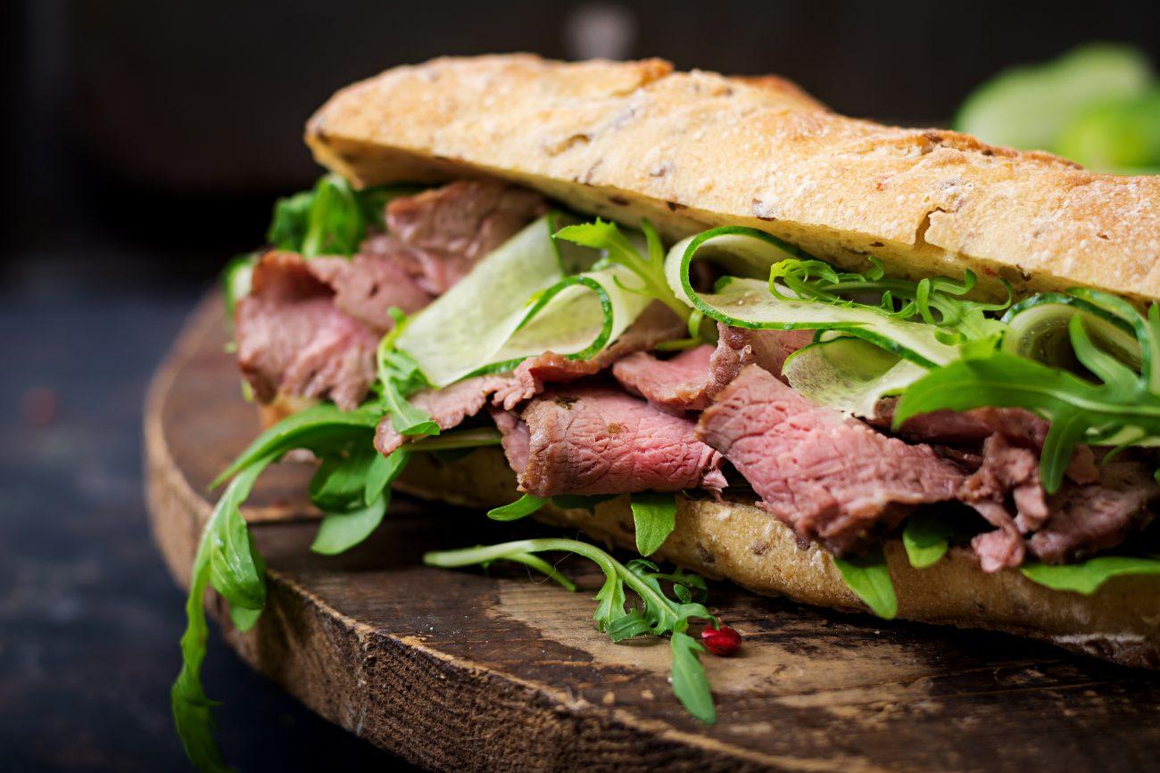 Pastrami Sandwich Sous Vide